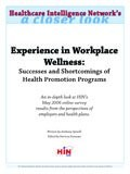 Experience in Workplace Wellness: Successes and Shortcomings of Health Promotion Programs