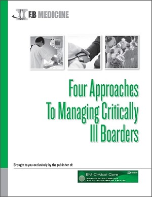 Four Approaches To Managing Critically Ill Boarders