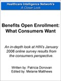 Benefits Open Enrollment: What Consumers Want