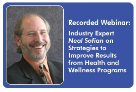 Evaluating Health and Wellness Incentive Programs for Behavior Change, a 45-minute webinar on February 10, 2011. Archive Version